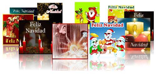 postales y tarjetas de navidad